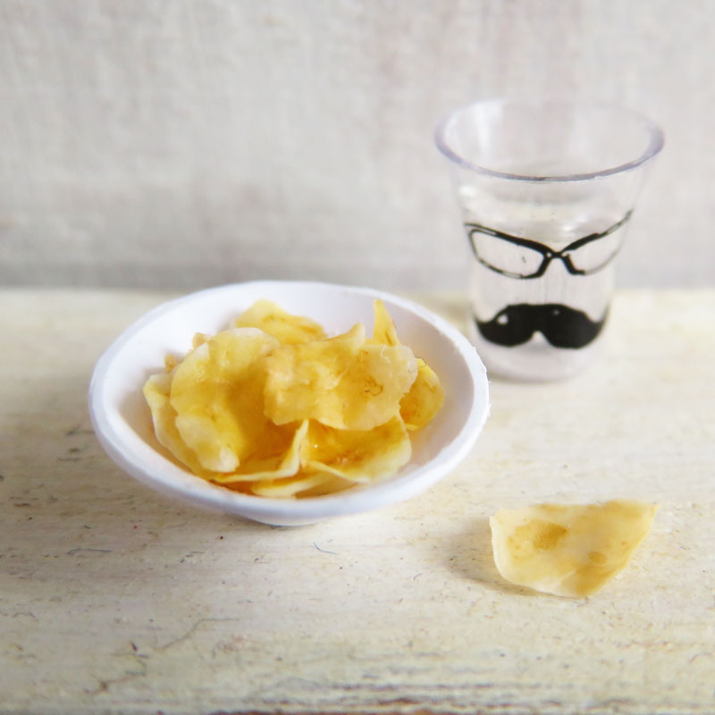 Miniature Snacks ③: Potato Chips