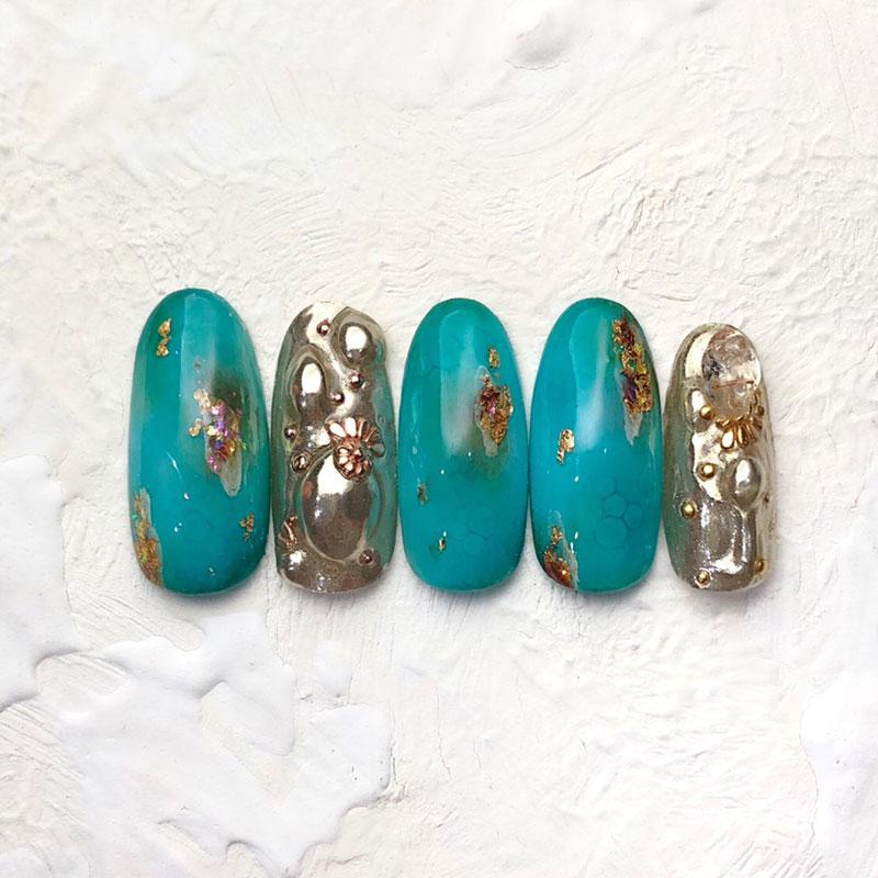【chiko】kirameki turquoise