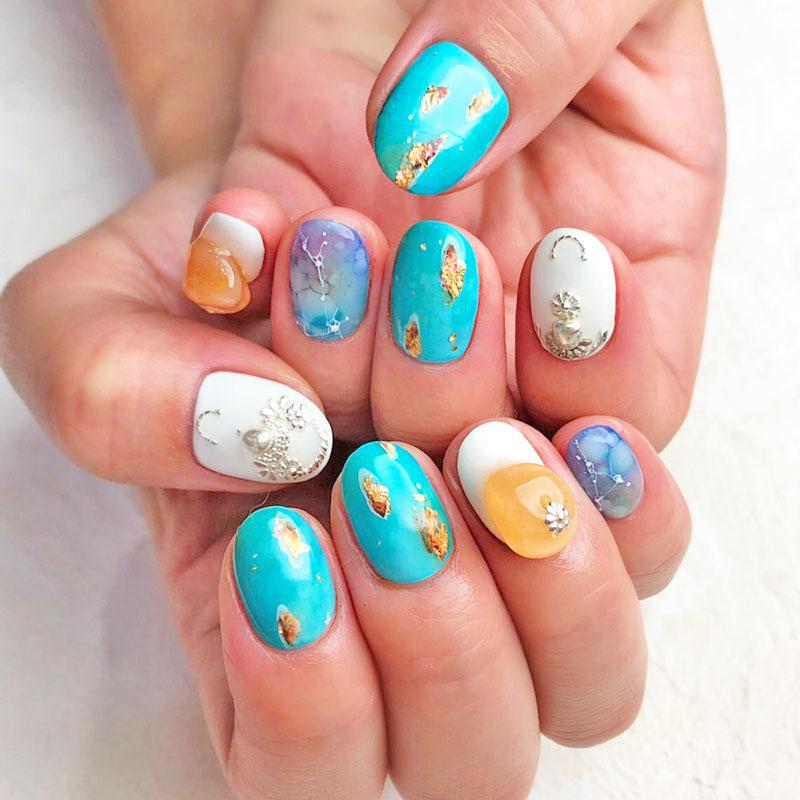 【chiko】Sparkling Turquoise