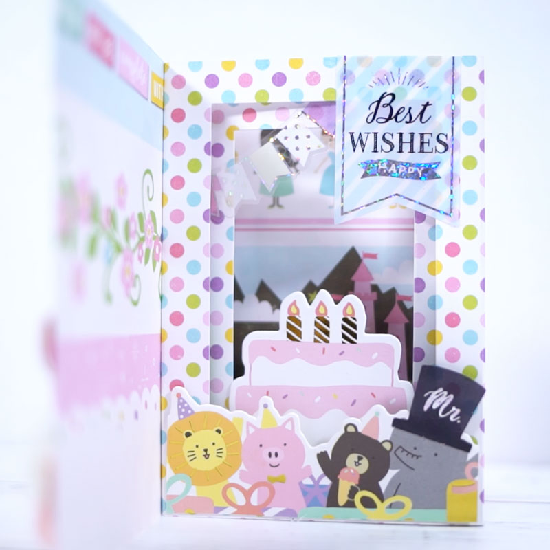 3D Card with Scrapbooking
