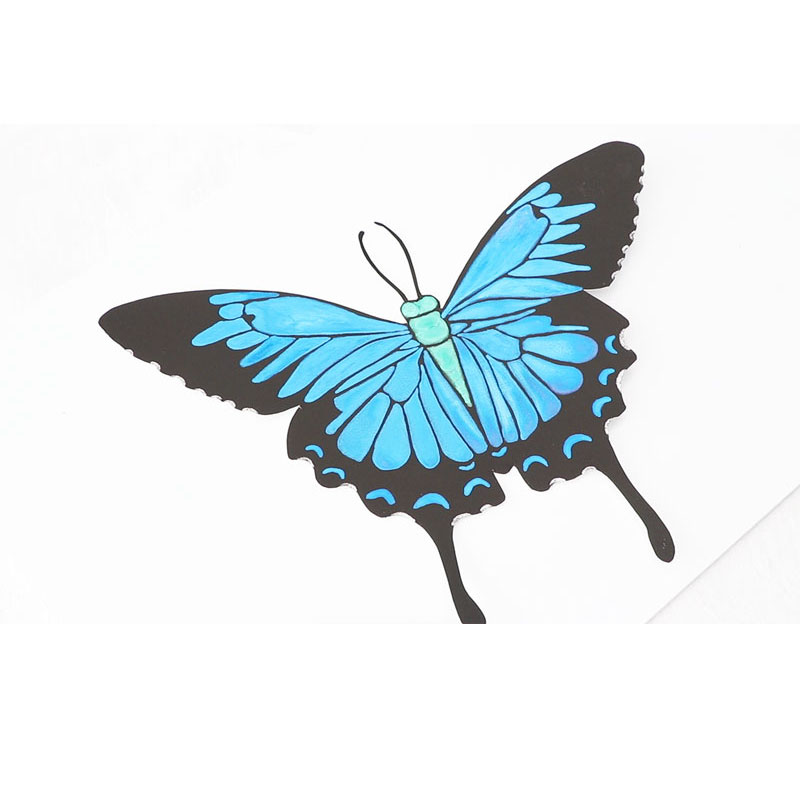 Shimmering 3D Butterfly – Using Iridescent Watercolours