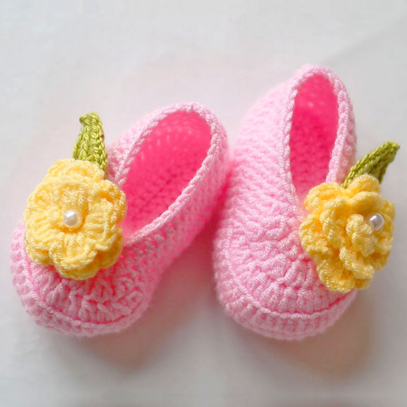 Crocheting Baby's Shoes -For girls・For boys-