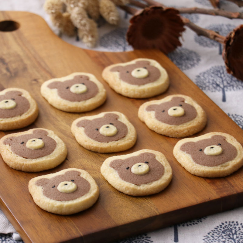 Icebox Cookies of Bear Kumahiko