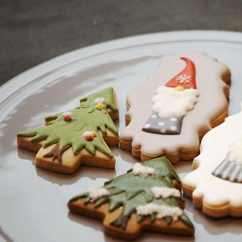 森林圣诞曲奇饼干