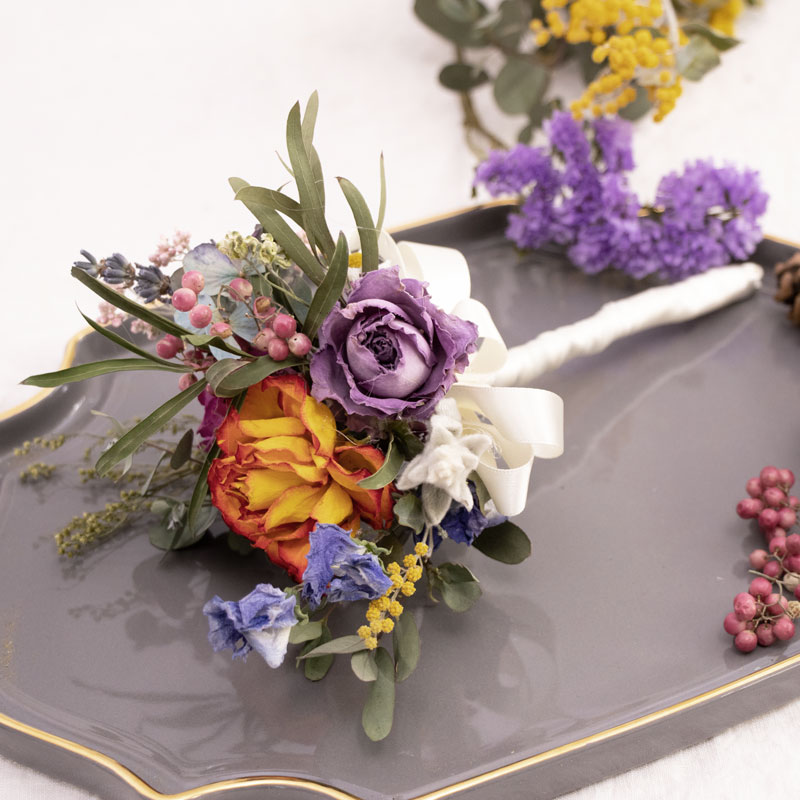 Dry Flower Boutonniere