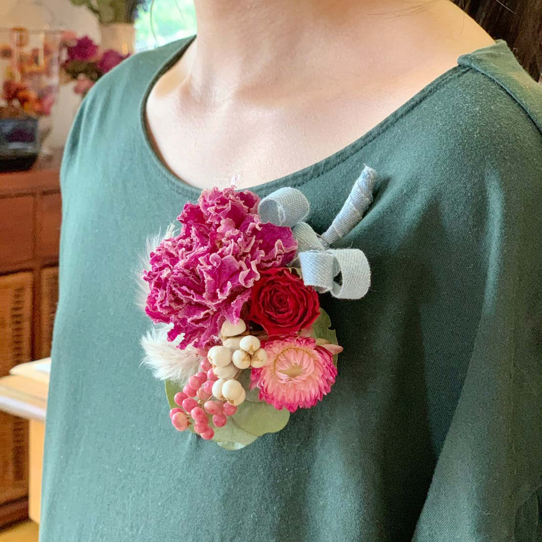 Casual Corsage for Daily Use