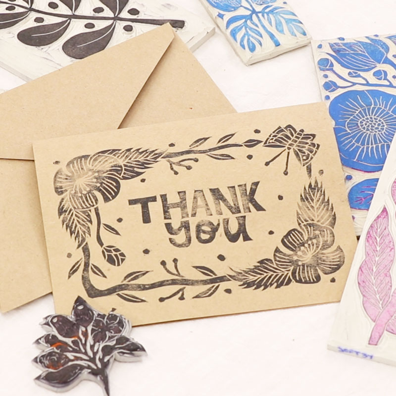 Creating Thank You Card