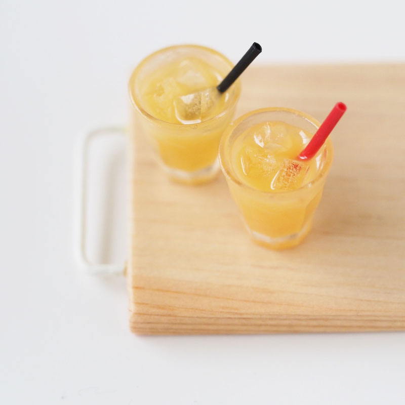 Miniature Drinks: Orange Juice