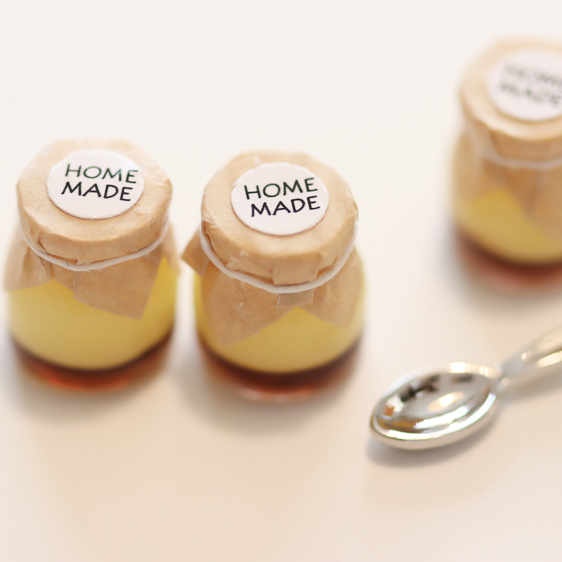 How to Make Miniature Custard Pudding