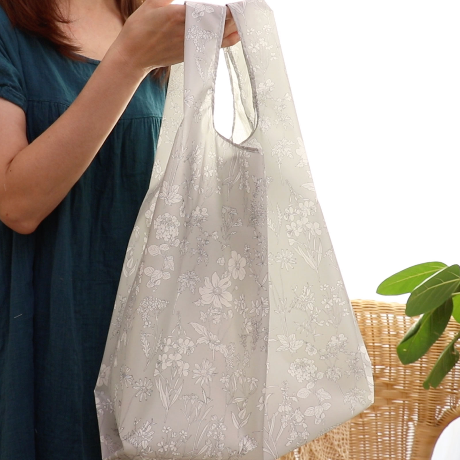 Plastic Bag-Inspired Large Shopping Bag
