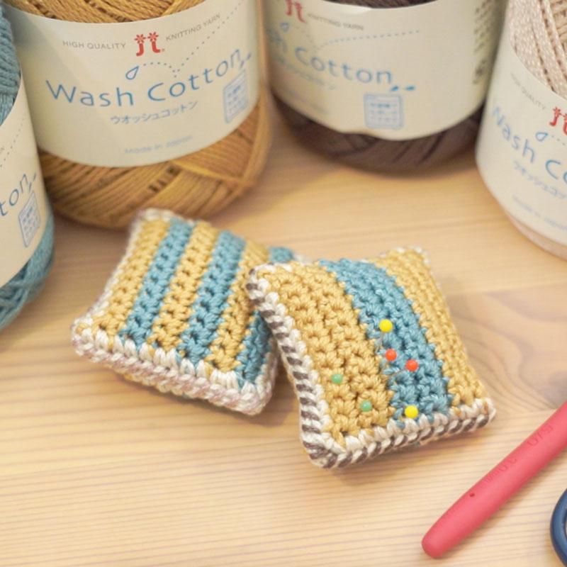 コットン糸で作るピンクッションの作り方