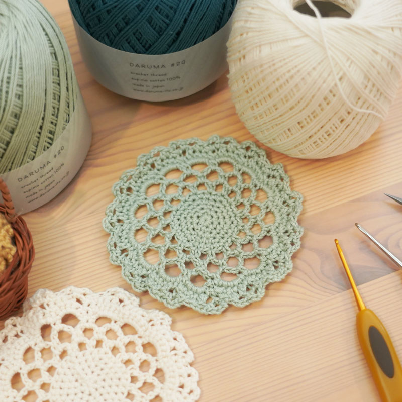 Learn the Basics: Chain and Single-Stiched Doily