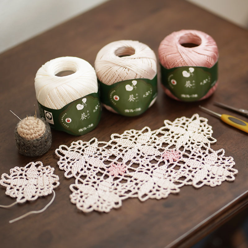 Doily with Connected Motifs
