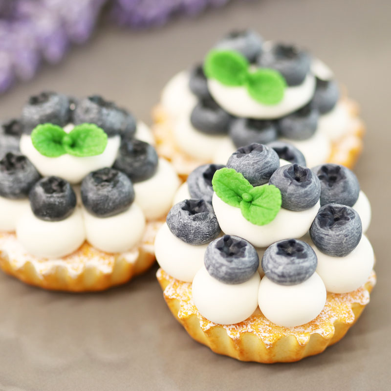Tart Lesson 3: Blueberry tart