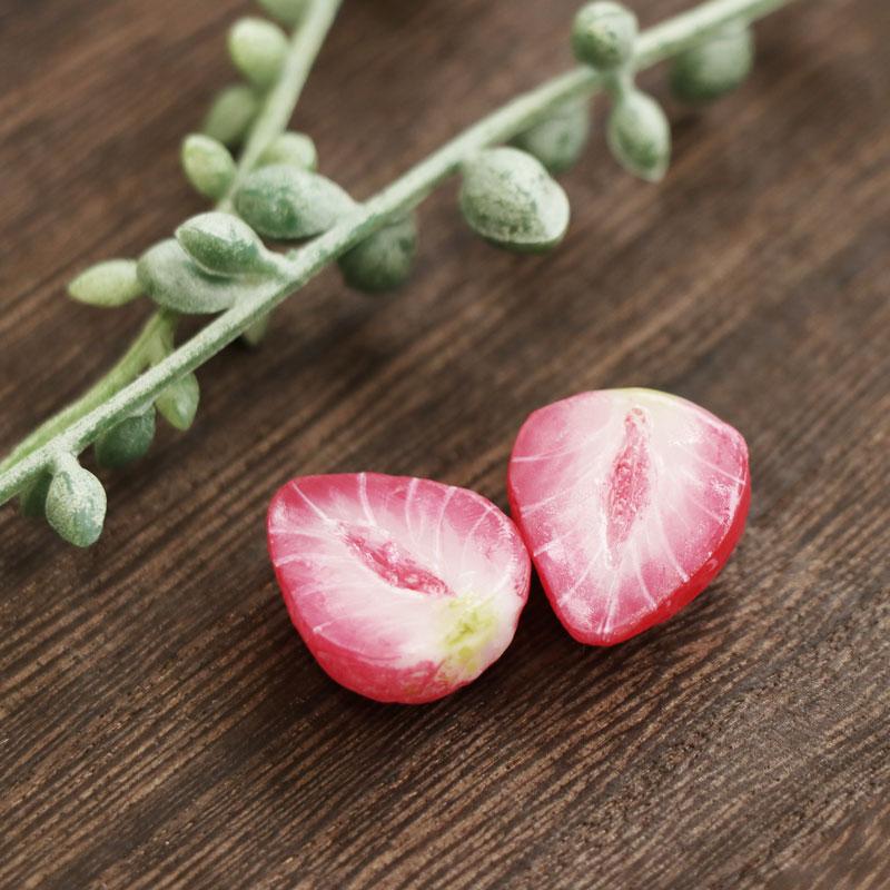 草莓的制作方法