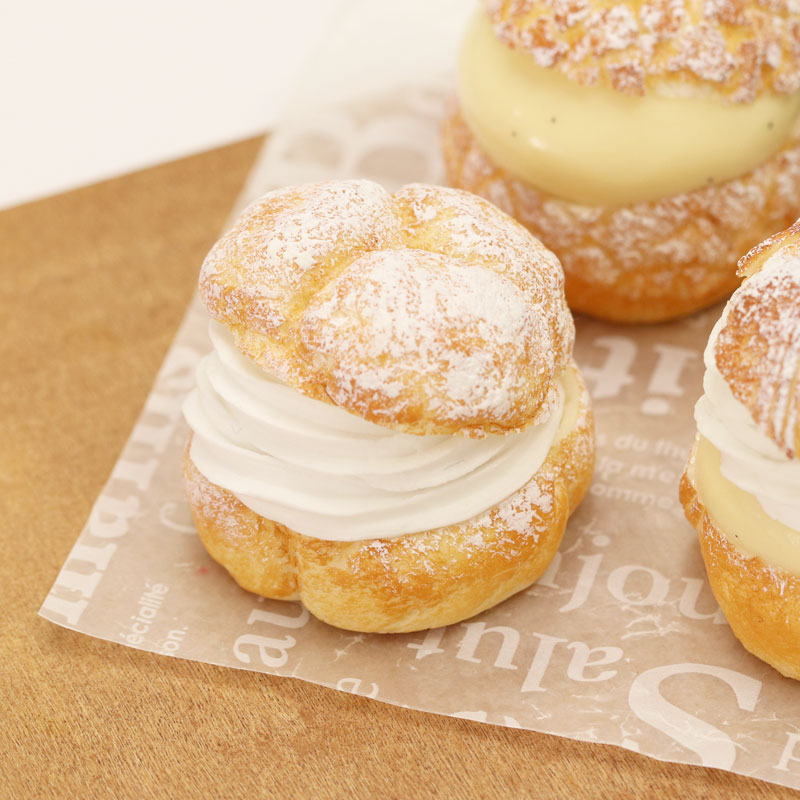 Cream Puffs: ①Basic Cream Puffs