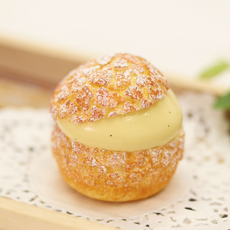 Cream Puffs Lesson④Choux au Craquelin