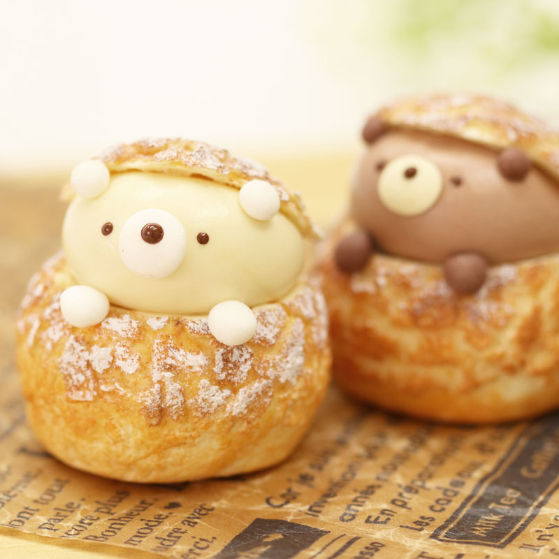 Cream Puffs Lesson⑤Teddy Bear Cream Puffs