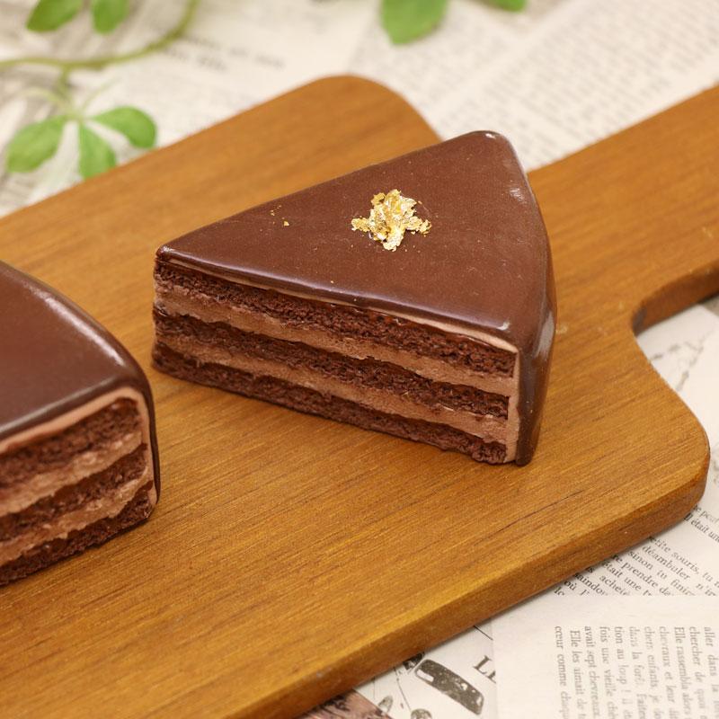 ガナッシュチョコレートケーキ