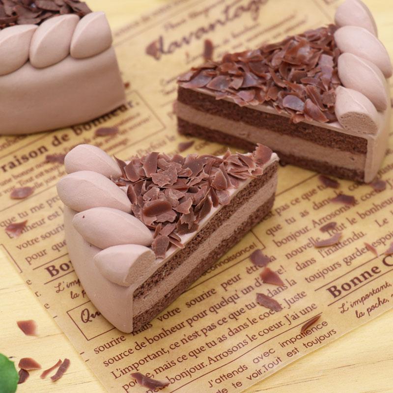 ケーキレッスン⑦生チョコケーキ