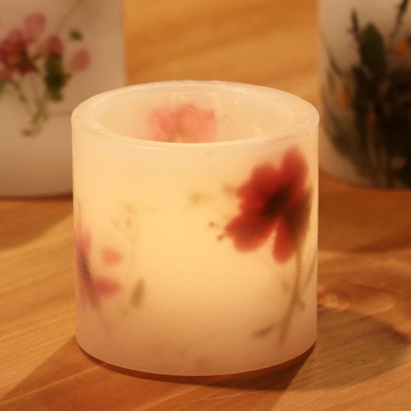 Pressed Flower Lantern
