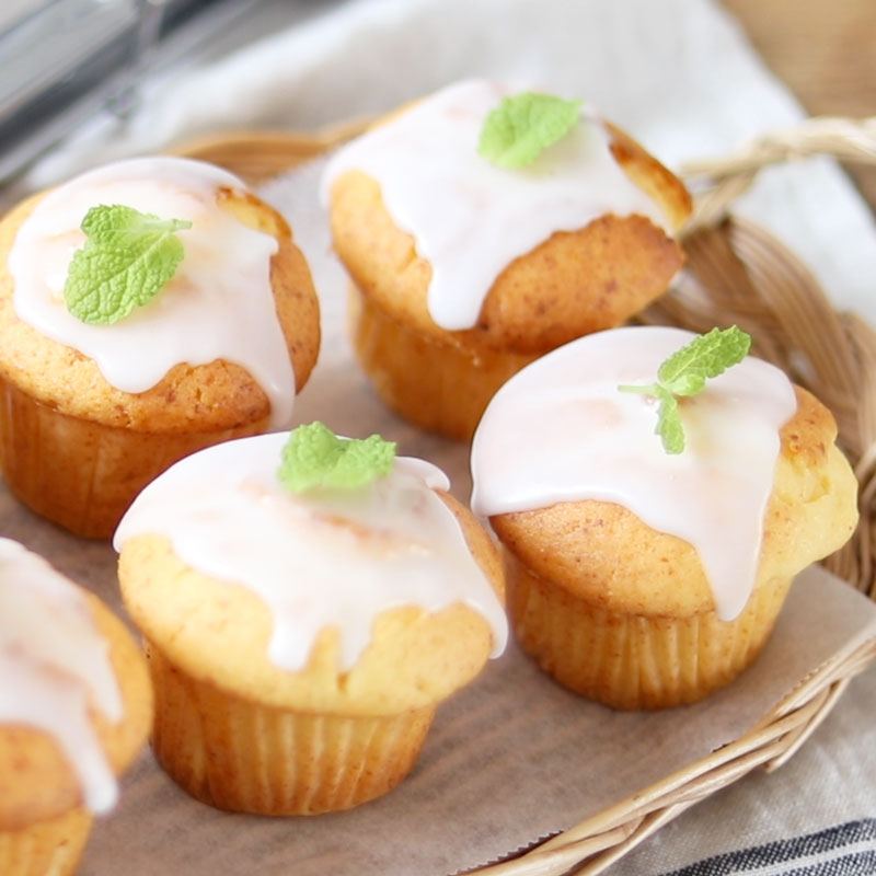 Cheesecake Muffins Using Butter and Oil