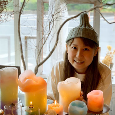 candle shop kinari step