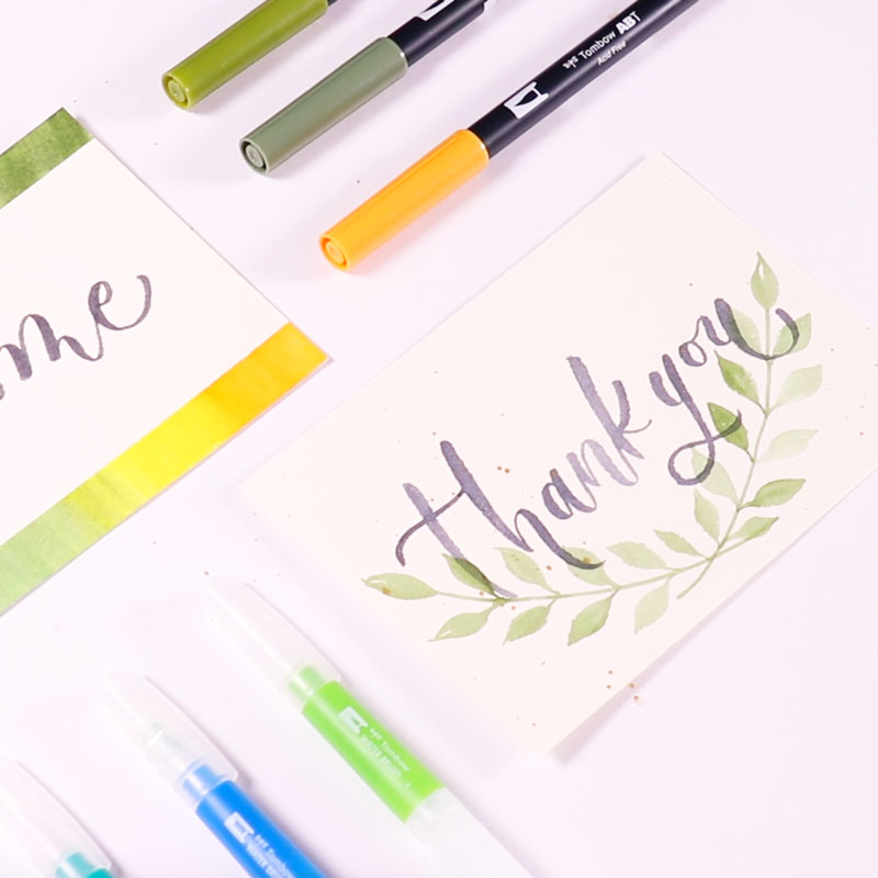 Watercolor Welcome Board