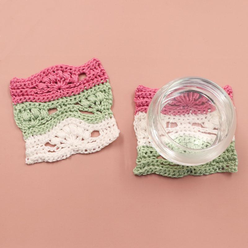 シェル模様の編み方