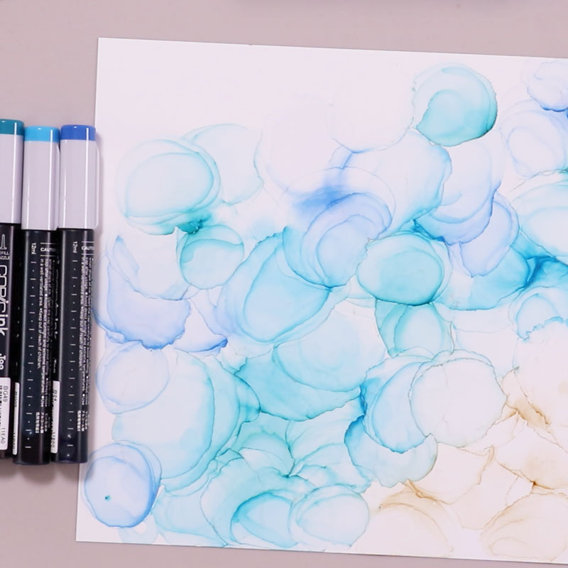 Alcohol Ink Art: Drawing with a Theme