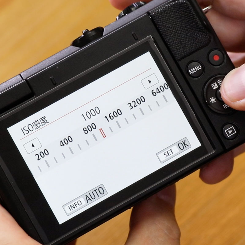 Canon入門⑤ 「ISO感度」について