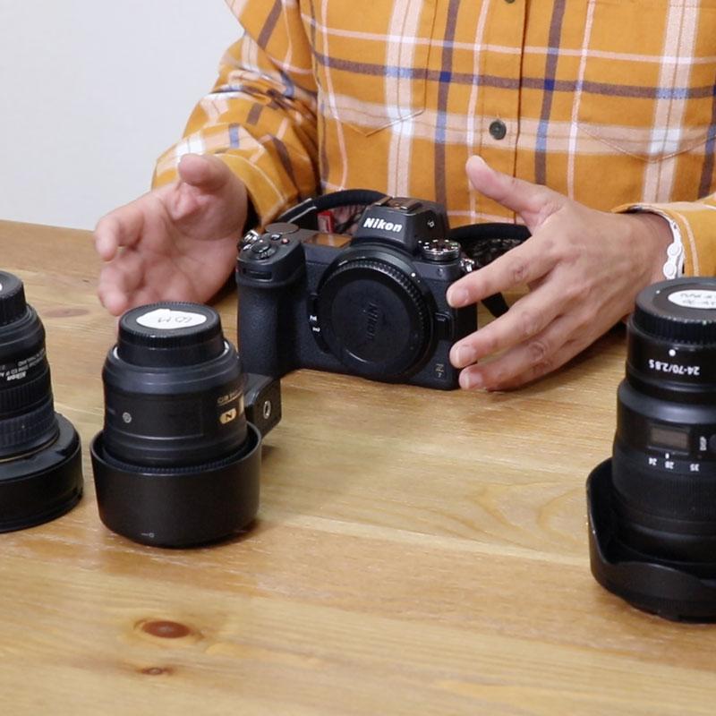 Nikon入門① カメラの構え方、最初の設定について