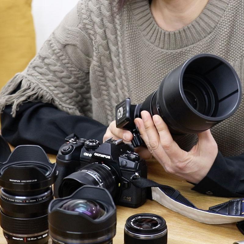 OLYMPUS入門① カメラのボディとレンズの種類について