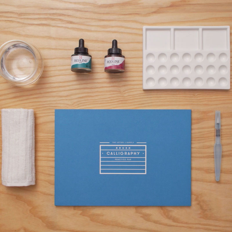 Letter Jのレッスンで使用する材料・道具
